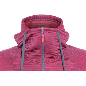 The North Face W's Hikesteller MD Jacket Grisaille Grey/Atomic Pink